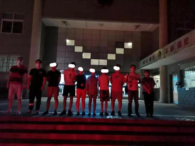 芜湖警方抓获网络招嫖犯罪嫌疑人7名 最大的才20岁